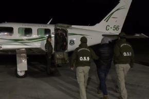 Carabineros de Chile trasladan a detenido en Antofagasta por falsa alarma de bomba Foto:@Carabdechile/Twitter