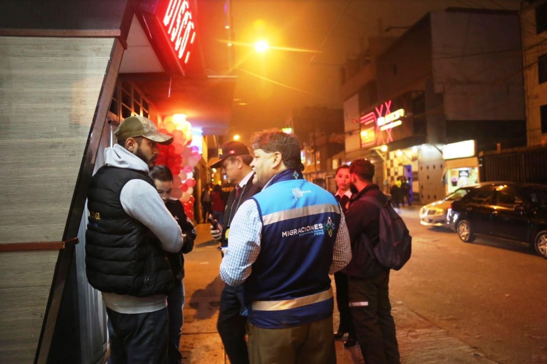 Detienen a 18 venezolanos por carecer de documentos y tener exceso de permanencia en Perú. Foto: ANDINA/Difusión.