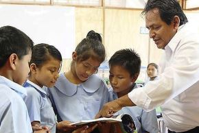 Docentes de colegios públicos ganarán el doble que sus pares del sector privado. Foto: ANDINA/archivo.