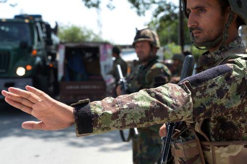 Tropas de Afganistán. Foto: AFP.