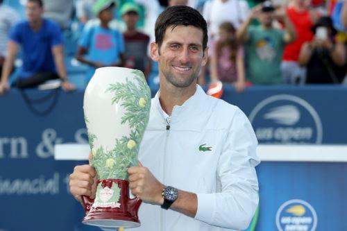 Djokovic comienza a recuperar su nivel y lo demostró en Cincinnati