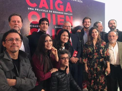 """Elenco de """"Caiga quien caiga""""."""