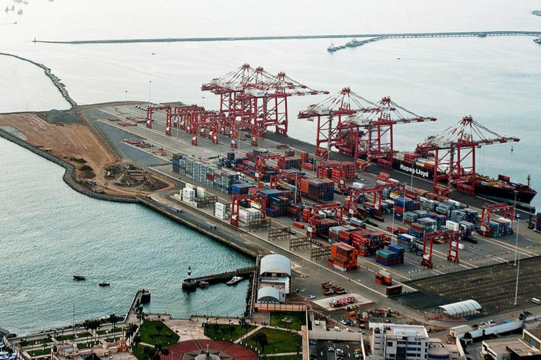 Puerto de El Callao, Perù. ANDINA/archivo
