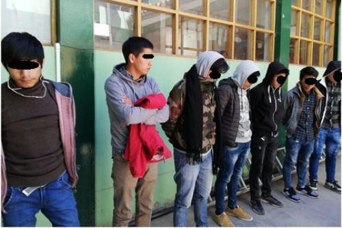 Foto: ANDINADetienen a 17 personas en Cusco por fraude durante examen de admisión a Universidad San Antonio Abad.Foto:  ANDINA