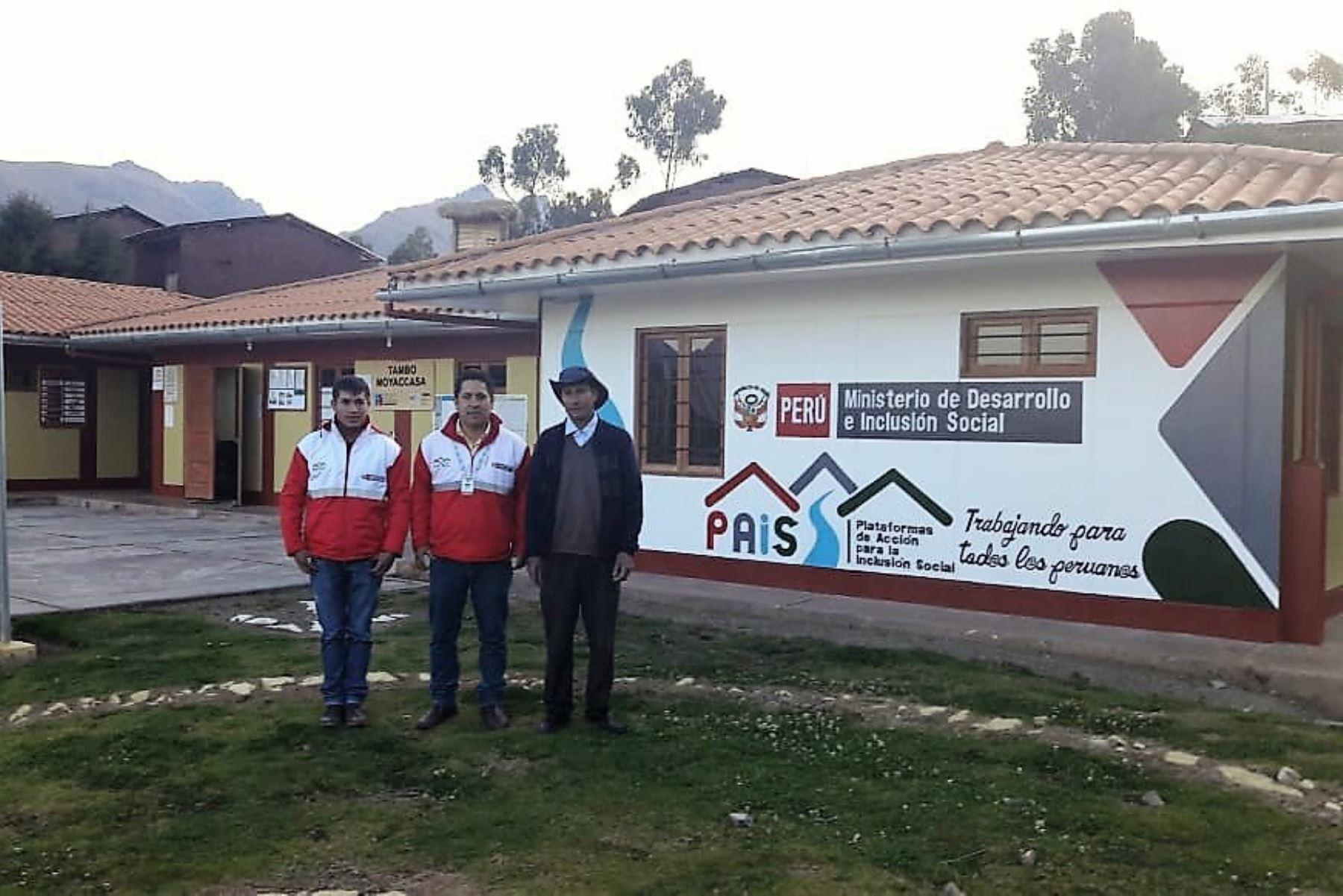 Midis incorpora a jóvenes universitarios para realizar prácticas en Tambos de Apurímac.Foto:  ANDINA/Difusión.