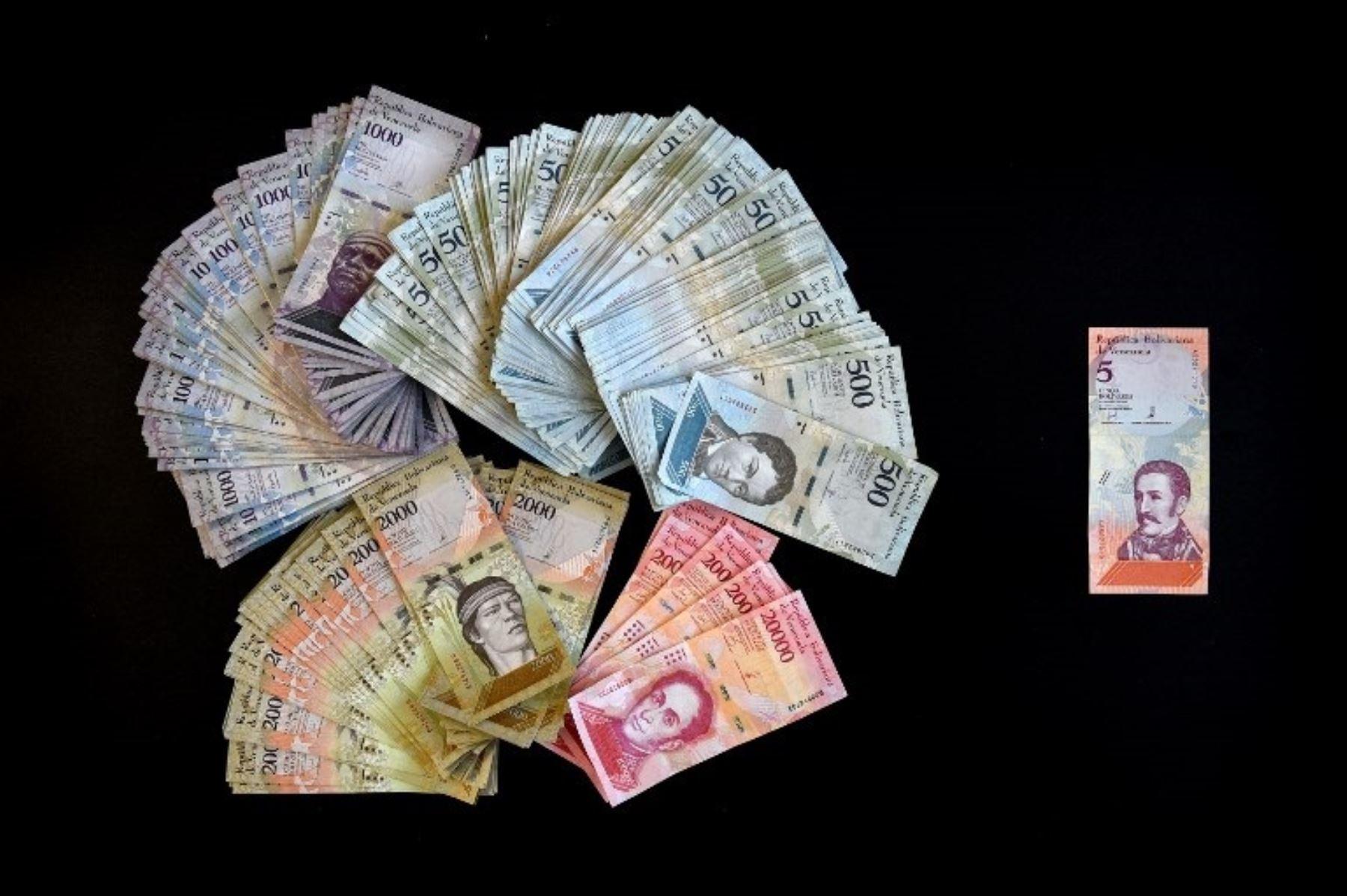 Venezuela estrena nueva moneda