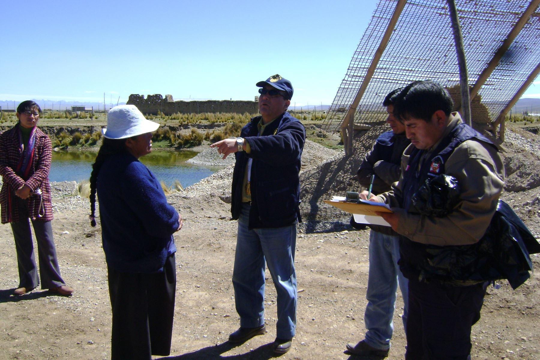 Sernanp implementará atención en quechua en Madre de Dios. ANDINA/Archivo