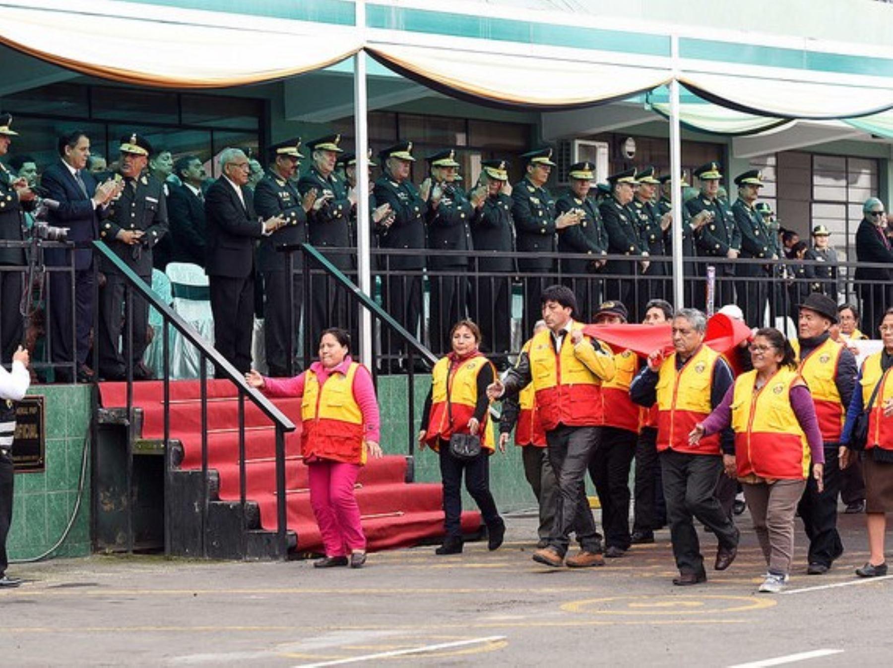 Más de 16,000 juntas vecinales apoya el trabajo de la Policía Nacional en Seguridad Ciudadana.