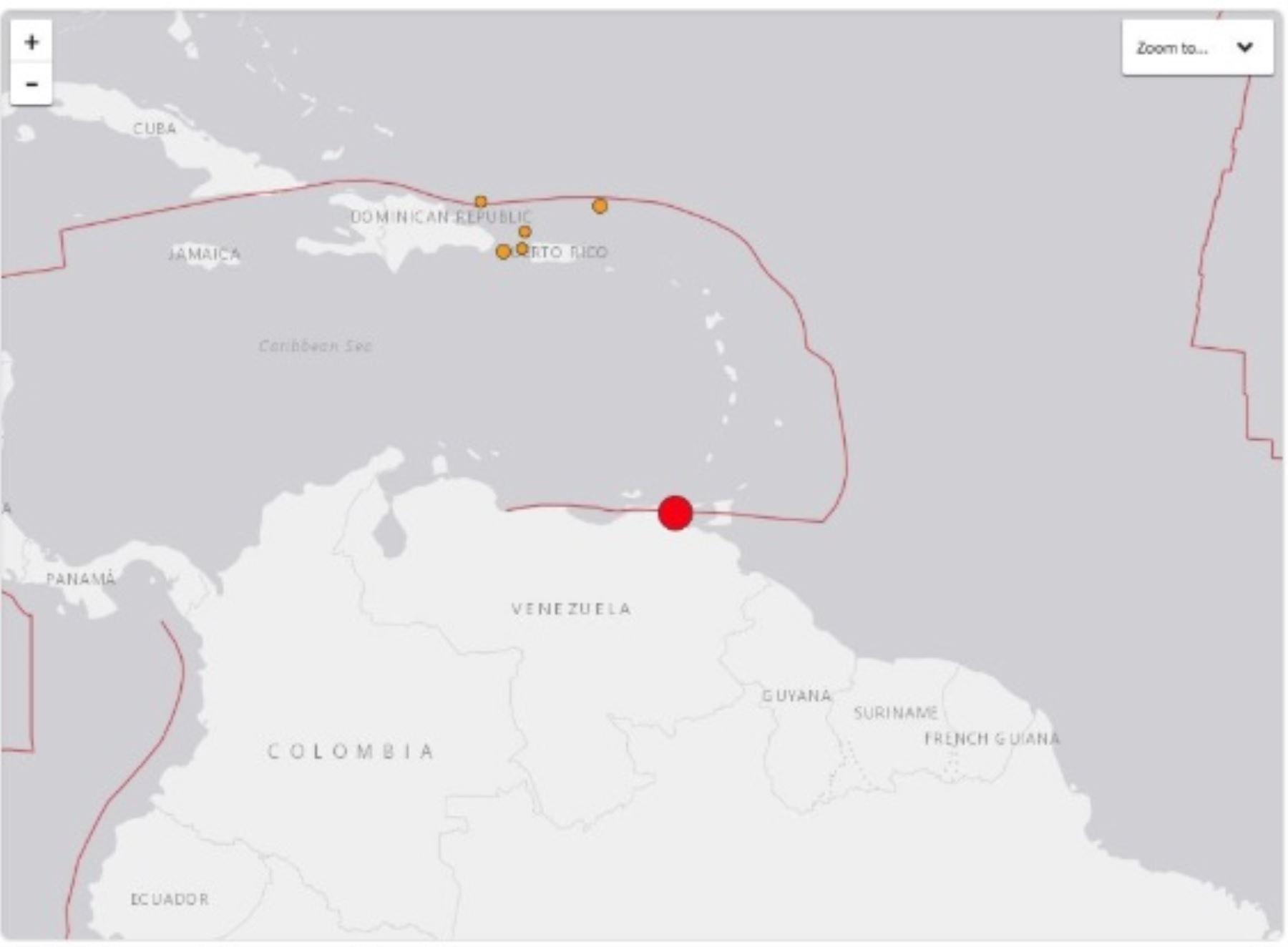 Terremoto en Venezuela
