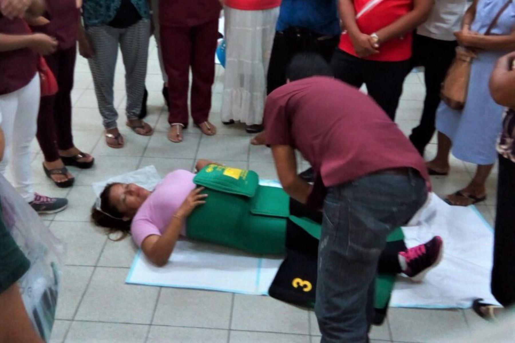 Minsa capacita a mujeres indígenas de Loreto en técnicas para reducir muertes maternas en sus comunidades. ANDINA/Difusión