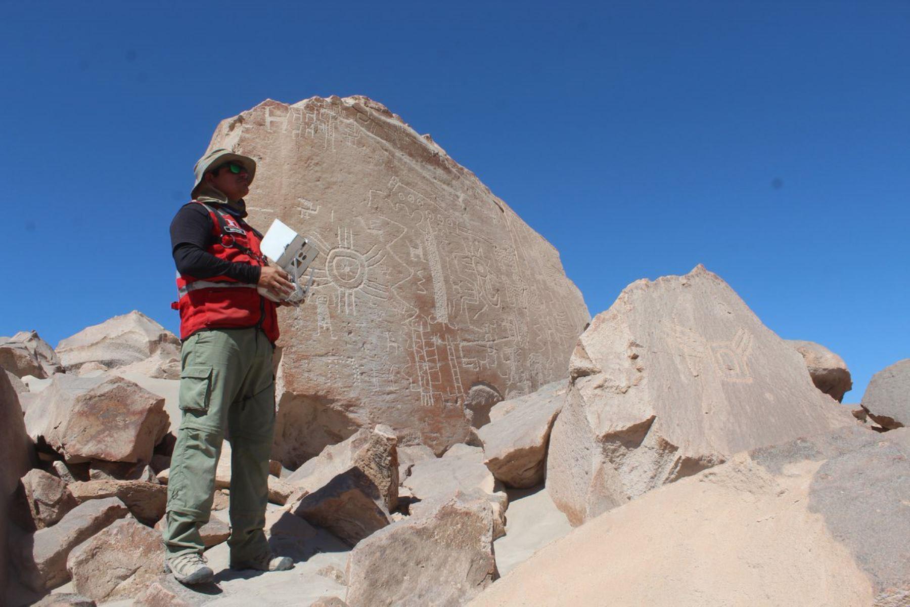 Arequipa destaca avances de expediente técnico para postular a Toro Muerto ante la Unesco, ANDINA/Difusión