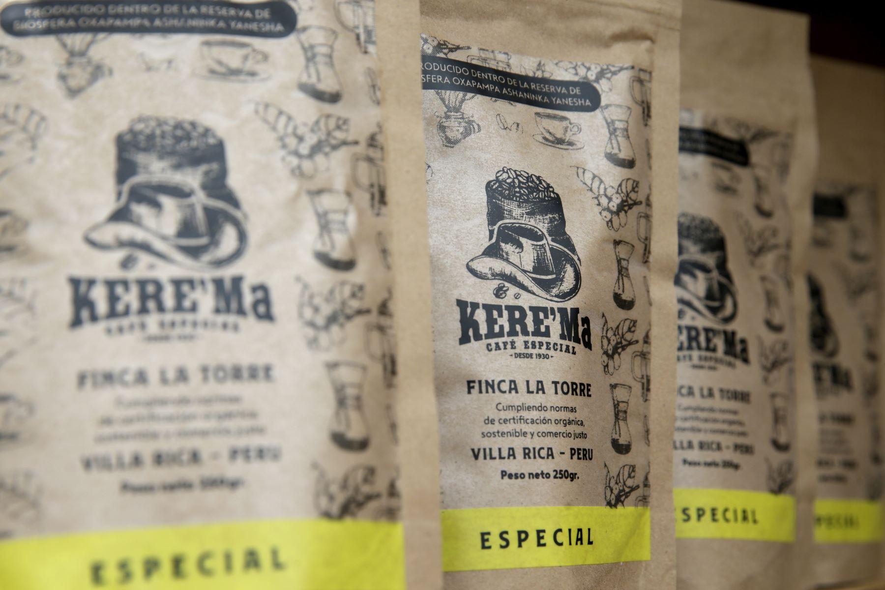 La Expo Café Villa Rica pone en valor las variedades de cafés e incentiva el consumo interno. Foto: ANDINA/Melina Mejía