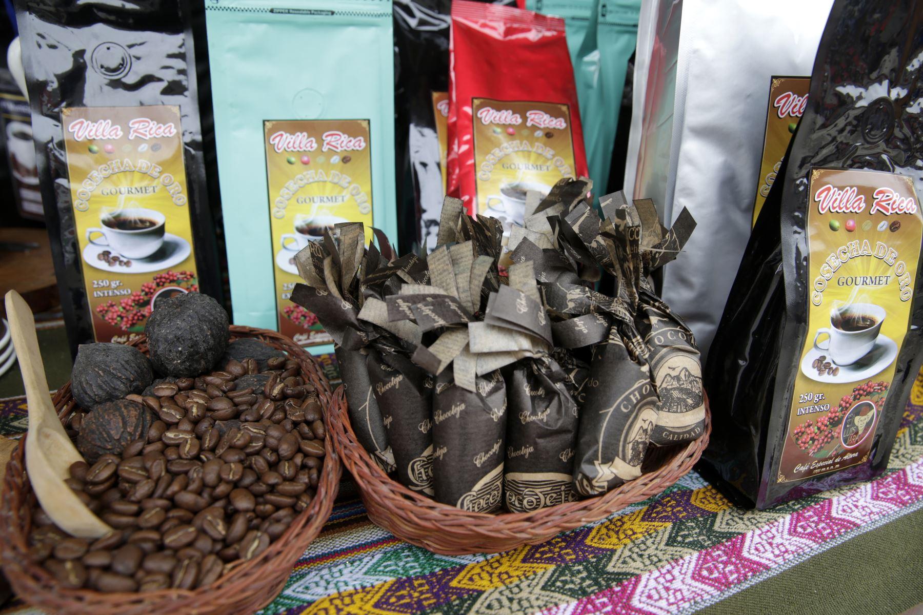 Los amantes del café podrán disfrutar y adquirir el más fino grano del Perú, directo de los productores de Villa Rica y Oxapampa. Foto: ANDINA/Melina Mejía