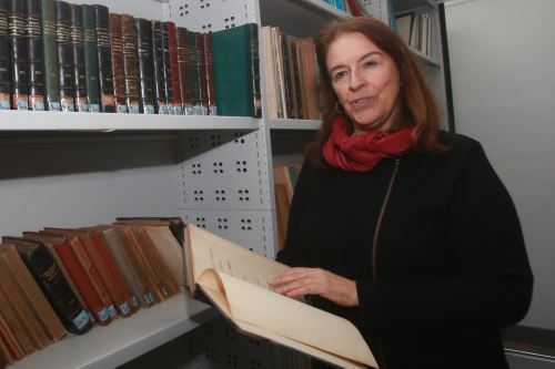 23/08/2018   Maria Emma Mannarelli, Jefa Institucional de la Biblioteca Nacional del Perú.Foto:ANDINA/Jhony Laurente