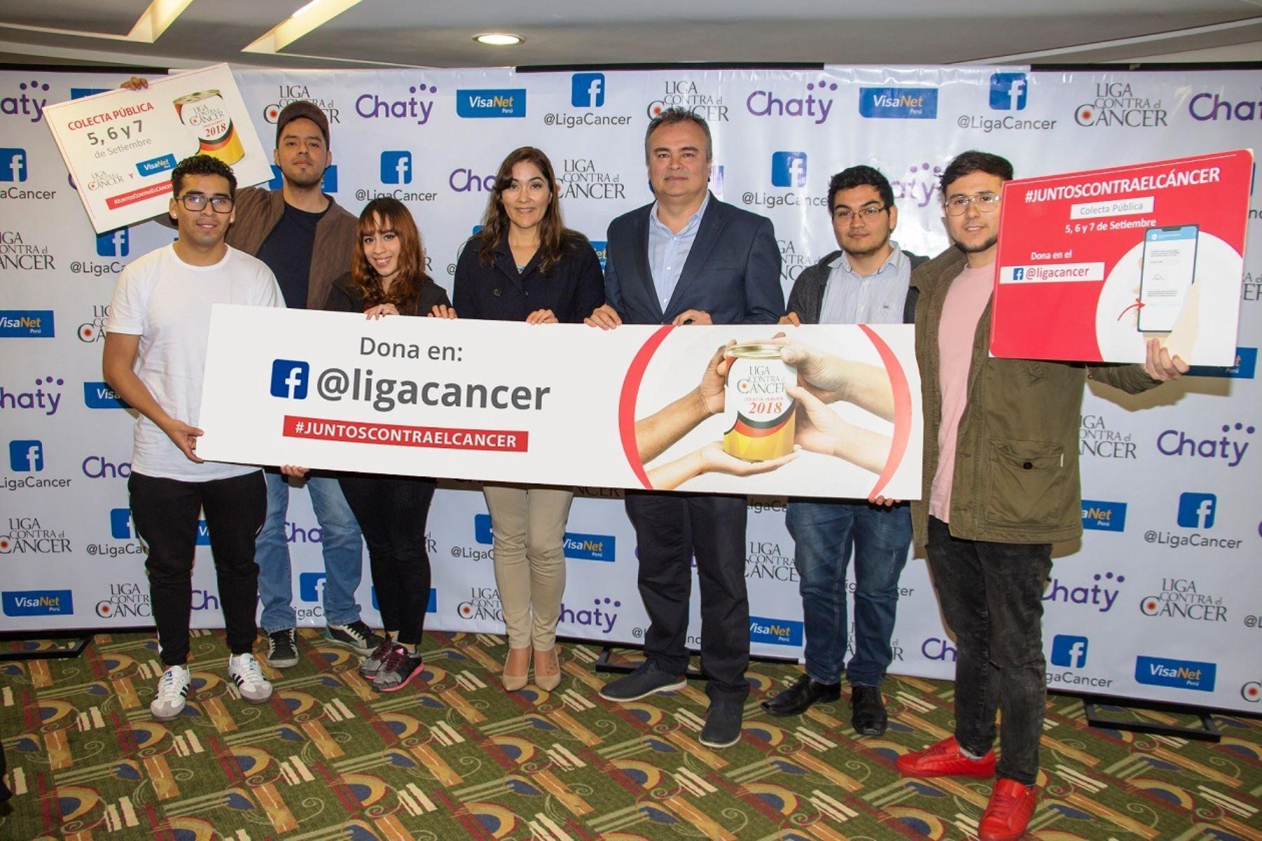 Liga Contra el Cáncer implementa plataforma de donación a través de Facebook. Foto: ANDINA/Difusión.