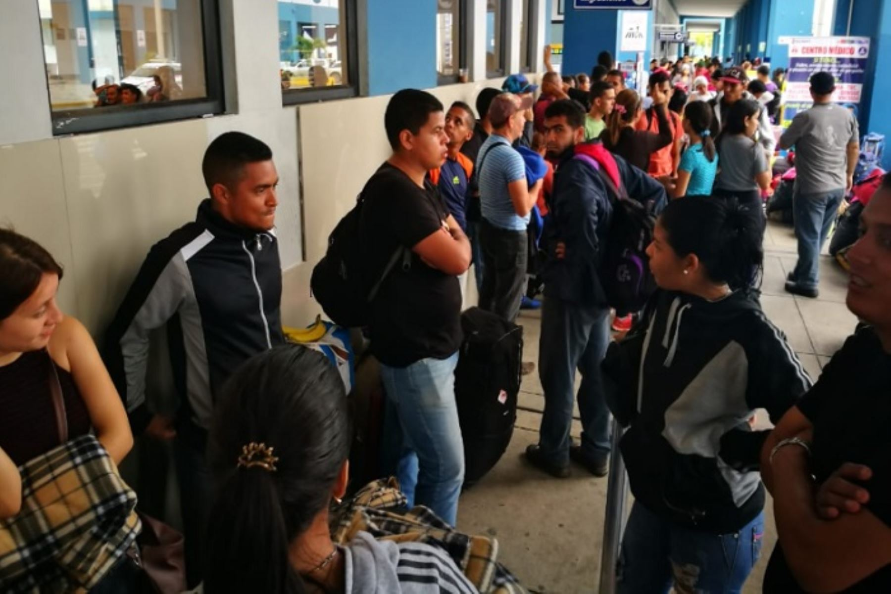 Ingreso de venezolanos al Perú. Foto: ANDINA/Difusión