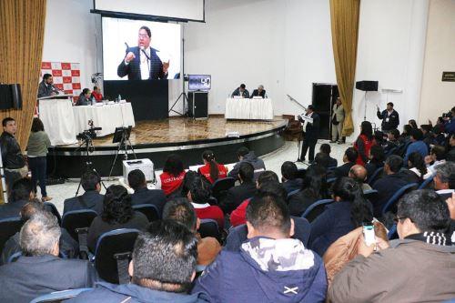 Contraloría realizará Audiencias Públicas Provinciales del 23 al 25 de octubre. ANDINA/Difusión
