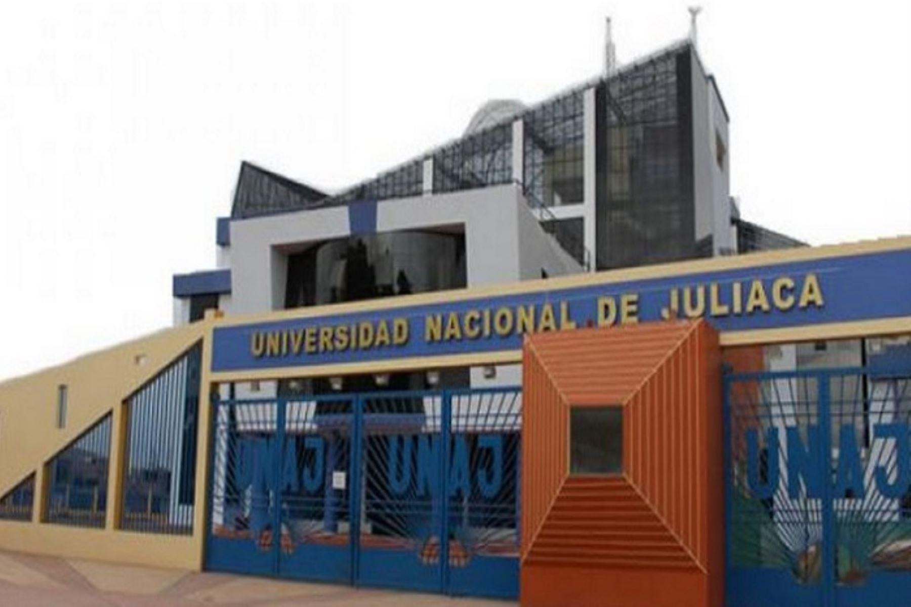La Superintendencia Nacional de Educación Superior Universitaria (Sunedu) otorgó a la Universidad Nacional de Juliaca (UNAJ) la licencia Institucional para ofrecer el servicio educativo superior universitario en el país, con una vigencia de 6 años.