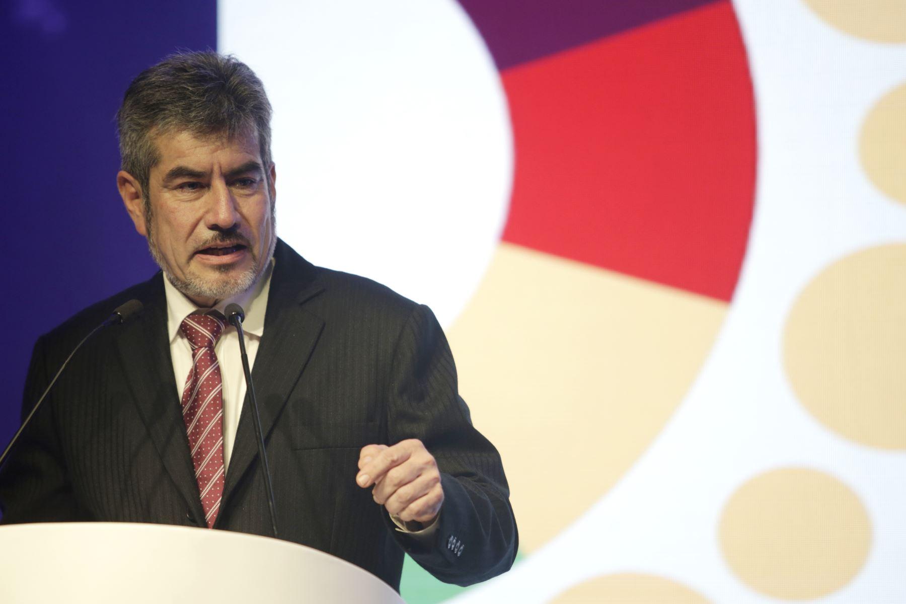 Ministro de Comercio Exterior y Turismo, Roger Valencia. ANDINA/Melina Mejía