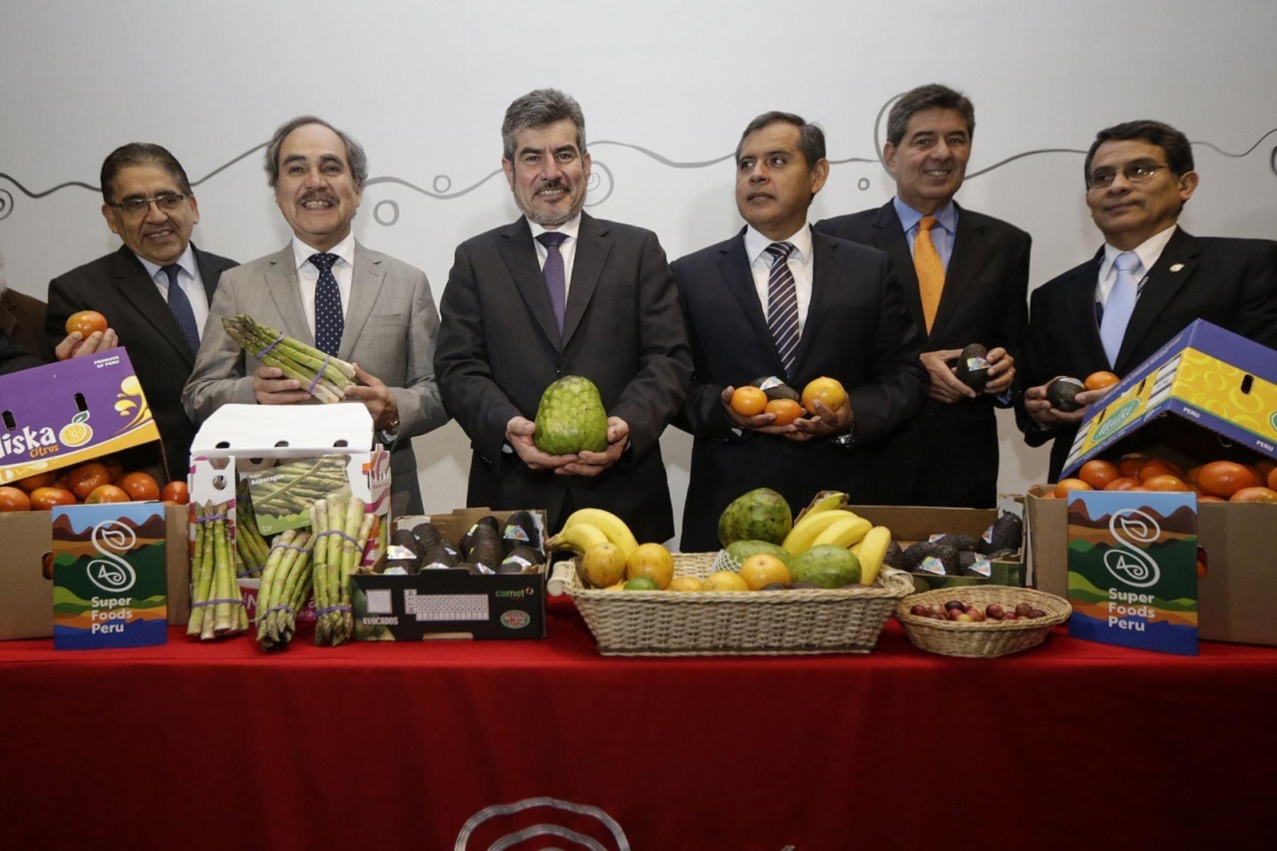 Presentación de la feria Asia Fruit Logistica.