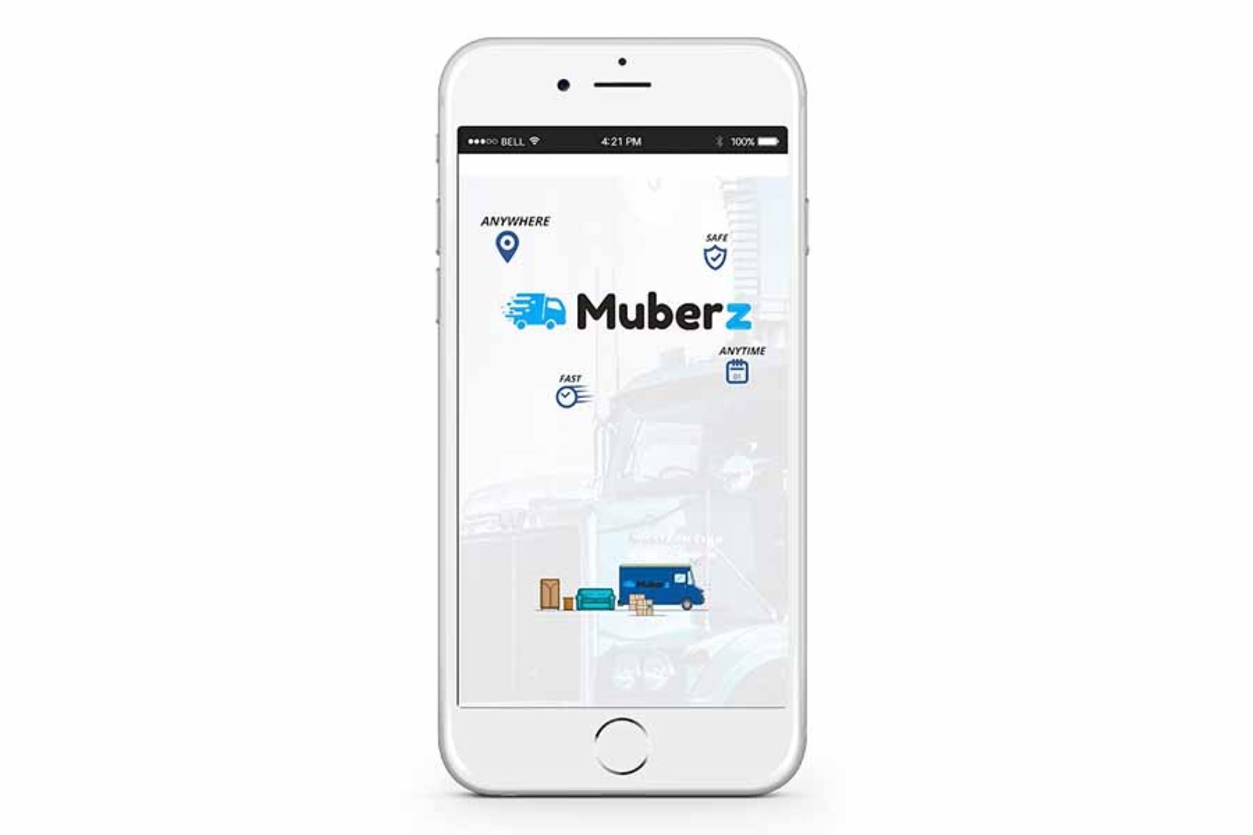 MuberZ es una aplicación para mudanzas pequeñas o para el traslado de productos específicos como un electrodoméstico.