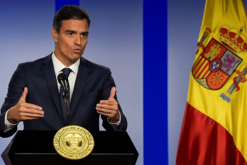 Pedro Sánchez  Foto: AFP