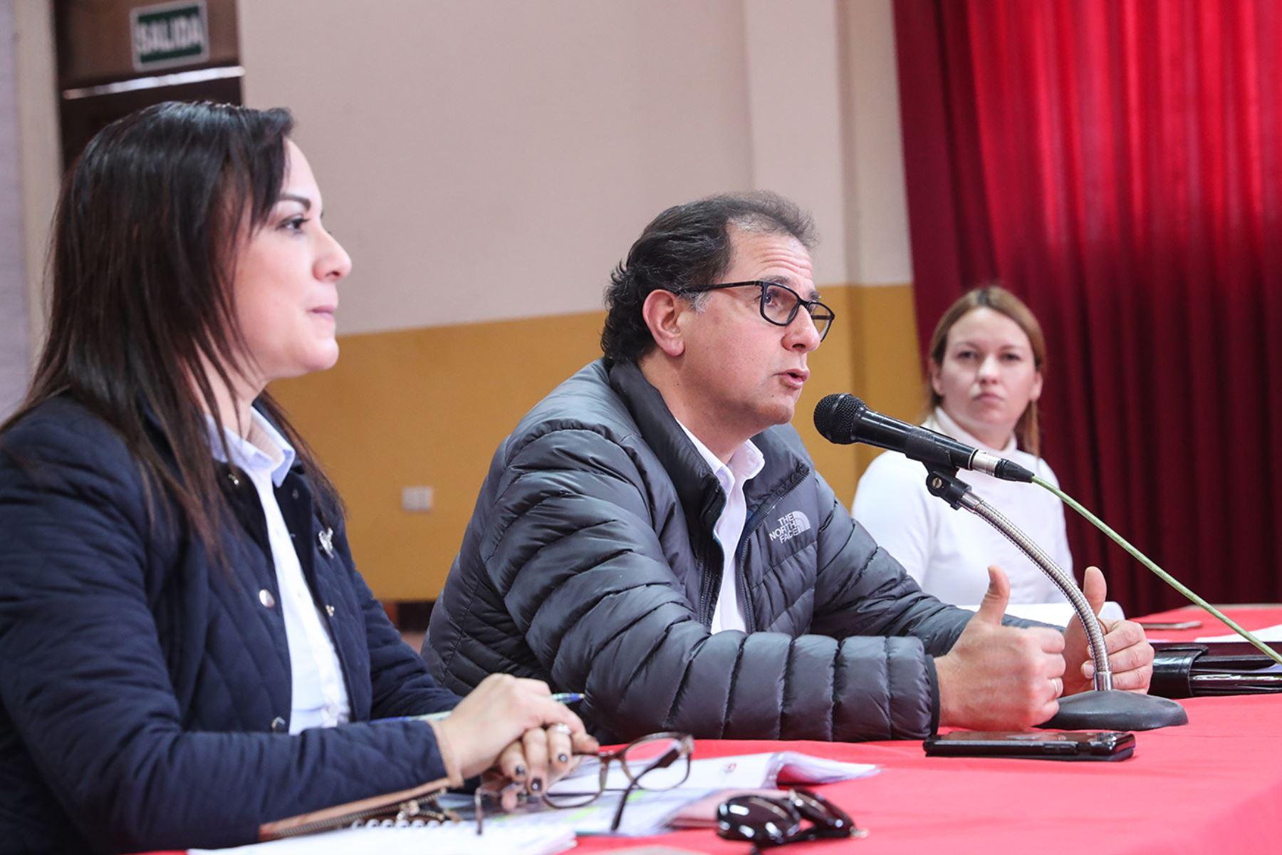 Ministro de Energía y Minas, Francisco Ísmodes ANDINA/Difusión