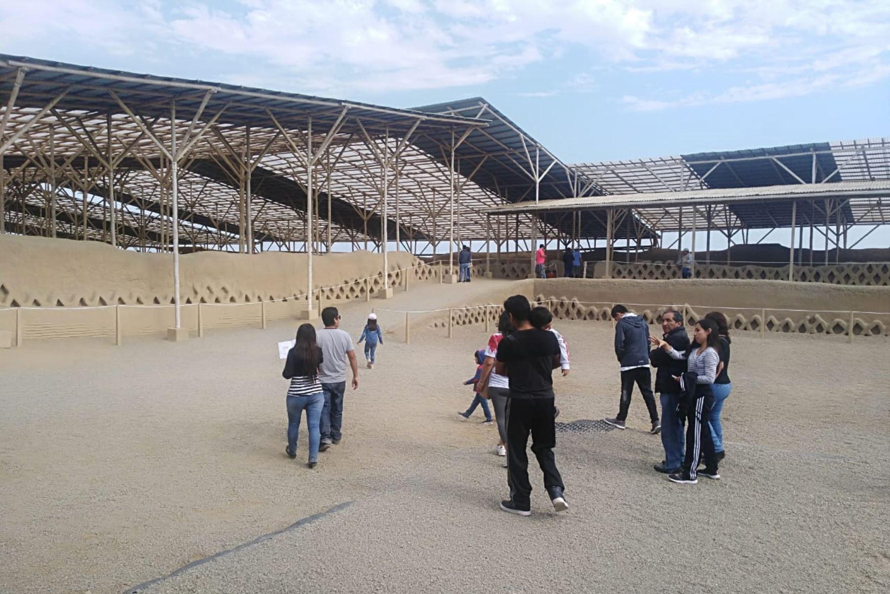 Más de 3,500 peruanos visitaron complejo arqueológico Chan Chan el domingo gracias a Museos Abiertos. ANDINA