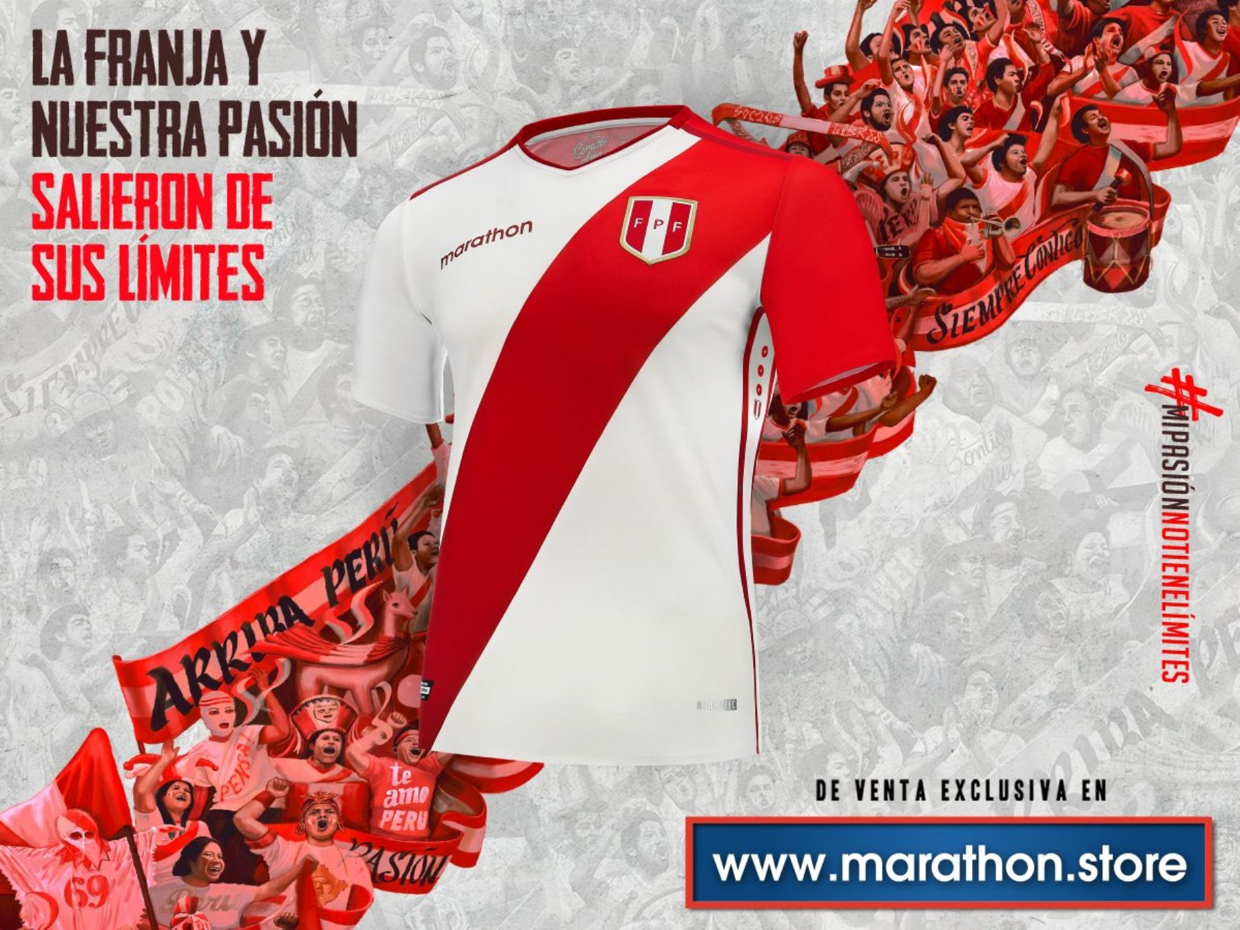 c82afe8c1c9 Marathon unveils Peru's new soccer jersey | News | ANDINA - Peru ...
