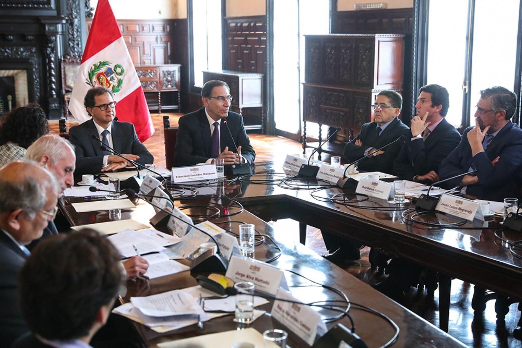Grupo de Alto Nivel encargado de construir la propuesta de Visión de la Minería al 2030.