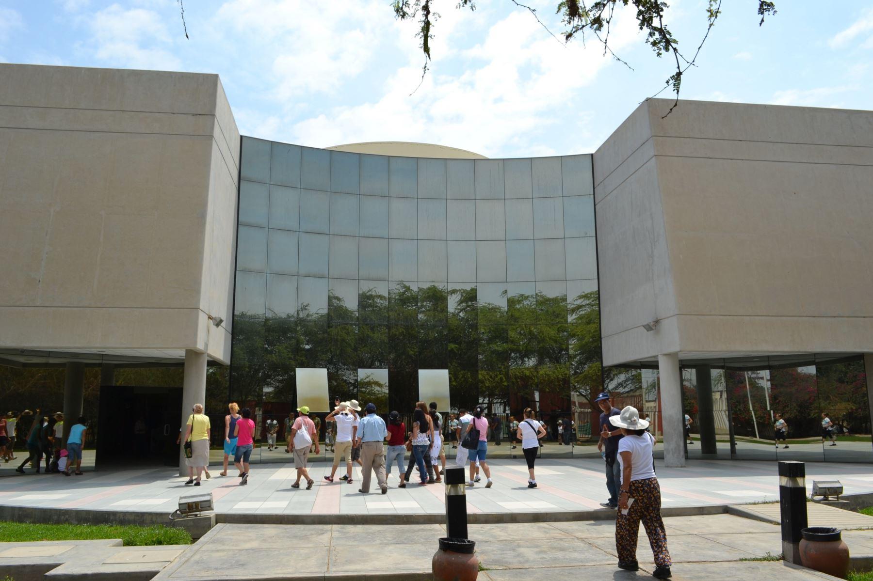 Ampliarán Museo Nacional Sicán, ubicado en la provincia de Ferreñafe, región Lambayeque, con miras al Bicentenario de la Independencia del Perú.