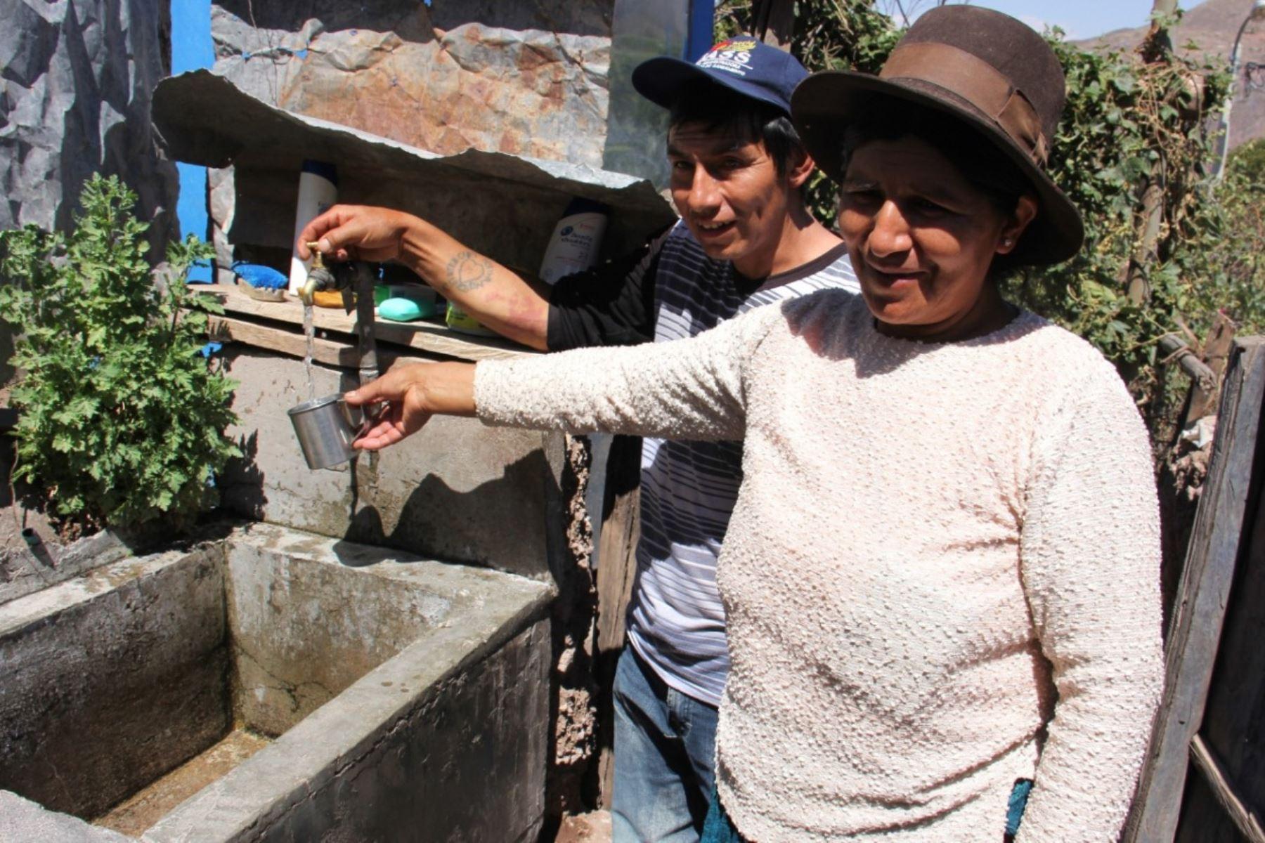 Sistema de agua segura beneficia a pobladores de zonas rurales de Ayacucho.