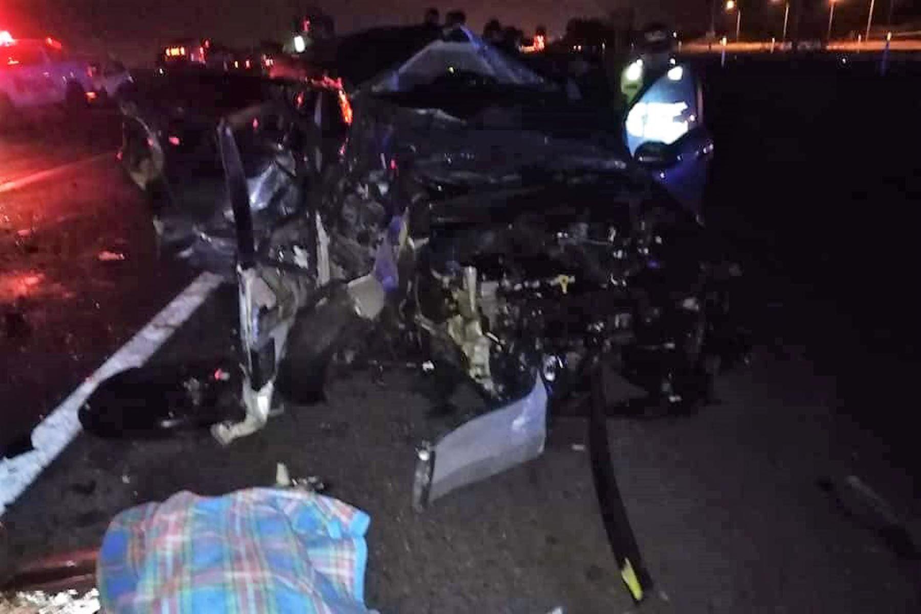 Madre e hijo mueren en fatal accidente a la altura de bulevar de Asia. Foto: Prensa Maleña