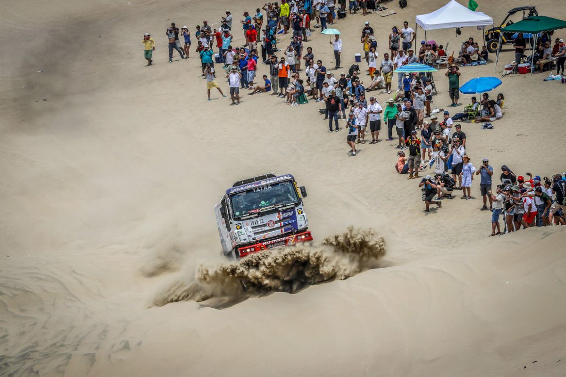 Rally Dakar 2019: Indeci brinda asistencia técnica en gestión del riesgo de desastres. ANDINA/Difusión