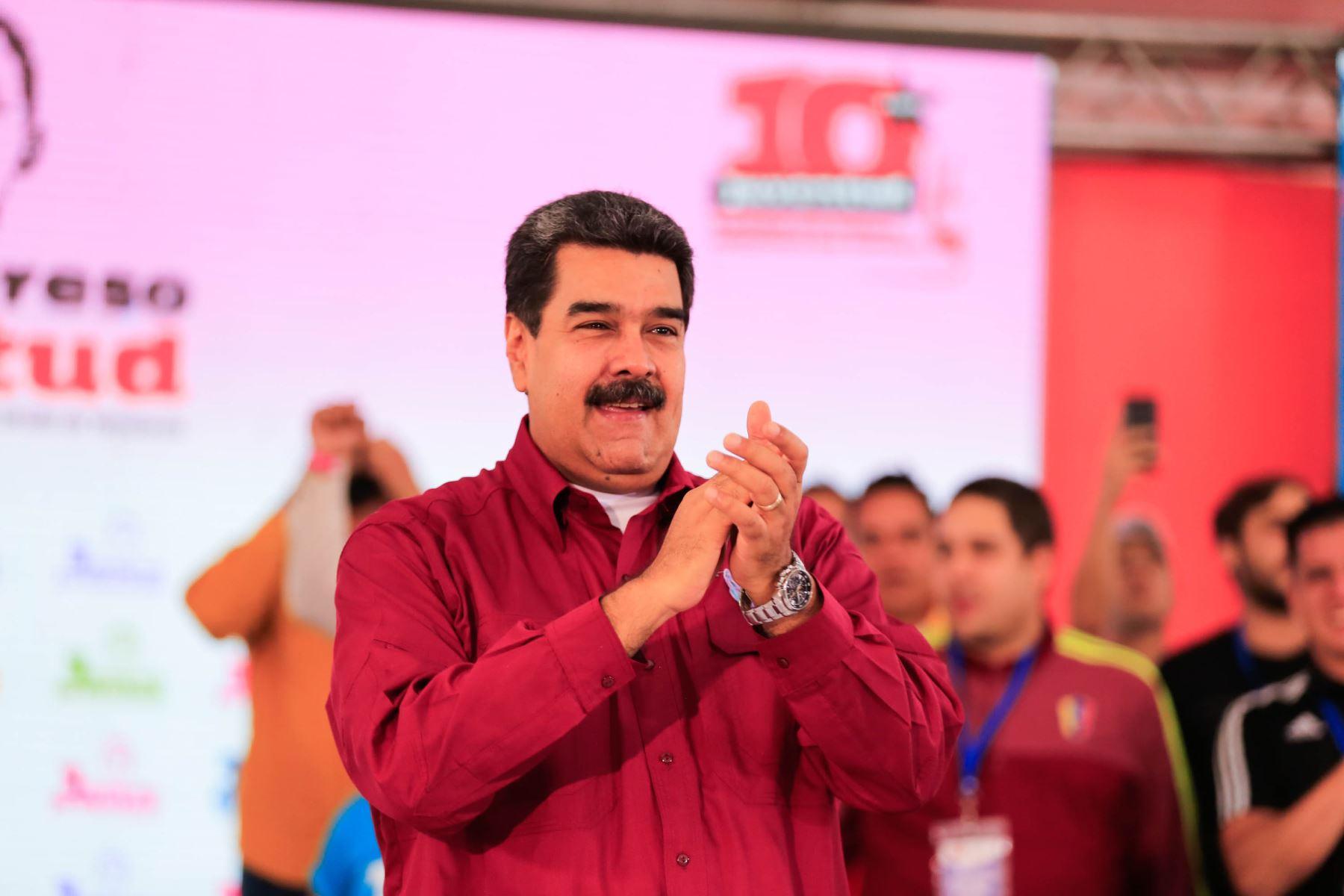Presidente venezolano, Nicolás Maduro Foto. EFE