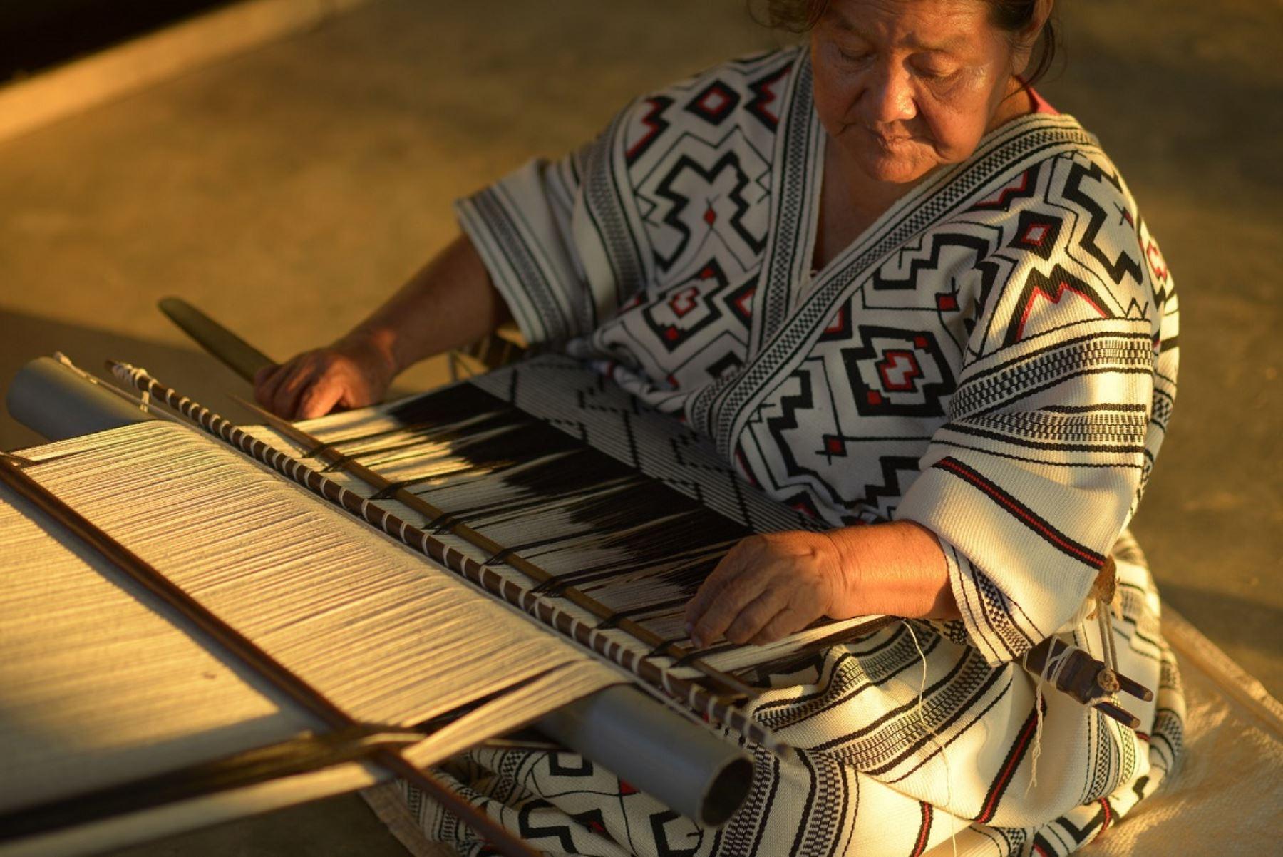 Artesanos amazónicos podrán participar de la feria Arte Nativa. ANDINA/Difusión