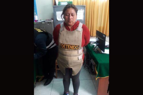 Policía captura en Cusco a mujer acusada de violar a sus hijas