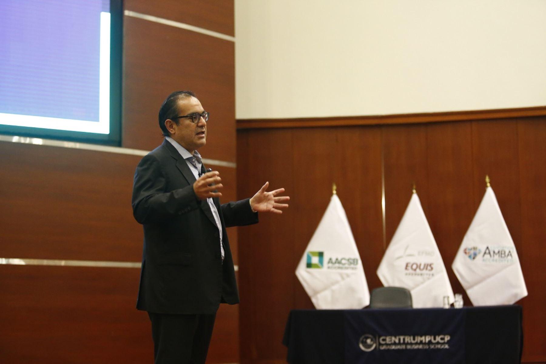 Vice presidente de Banca Digital del Scotiabank, Luis Torres. Foto: cortesía.