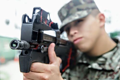 Exposición de Tecnología Militar
