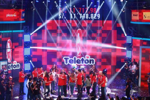 Teletón: Se superó la meta con más de 11 millones