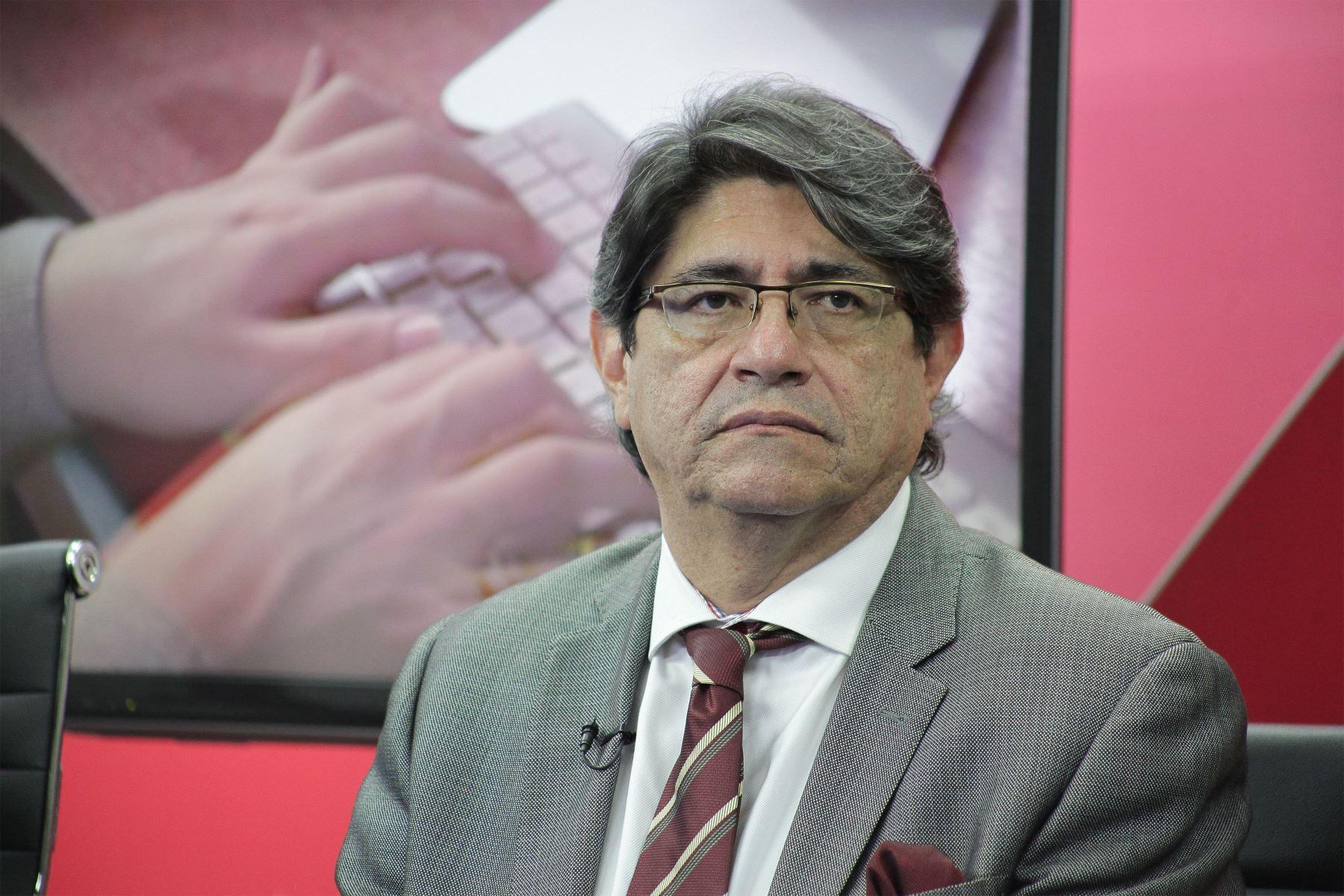 Presidente de Canatur, Carlos Canales. ANDINA/archivo