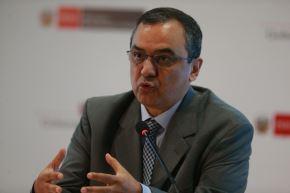 Ministro de Economía y Finanzas, Carlos Oliva.Foto:  ANDINA/Vidal Tarqui