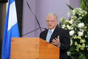 El exvicepresidente de Guatemala Eduardo Stein Foto: AFP