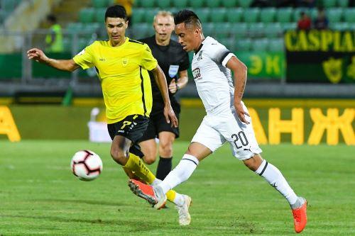 Christian Cueva lista para hacer su debut en competición europea de clubes