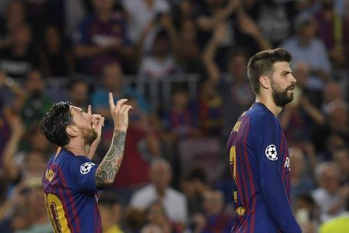Lionel Messi lidera la tabla de goleadores al término de la primera jornada de la Liga de Campeones