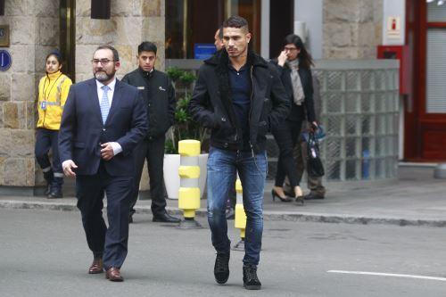 Paolo Guerrero acude al Swissotel para inspección judicial