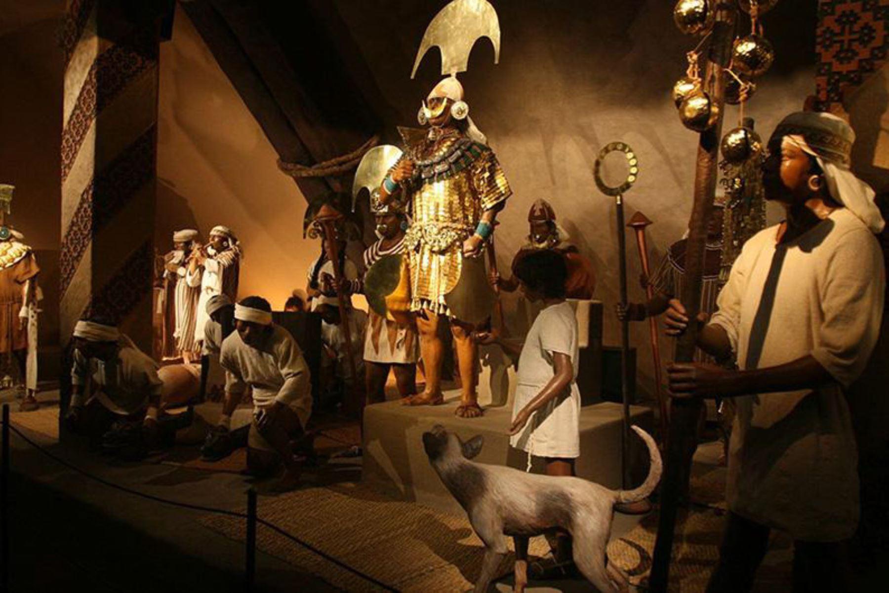 Casa Real se exhibe en el Museo Tumbas Reales de Sipán, ubicado en la norteña región de Lambayeque.