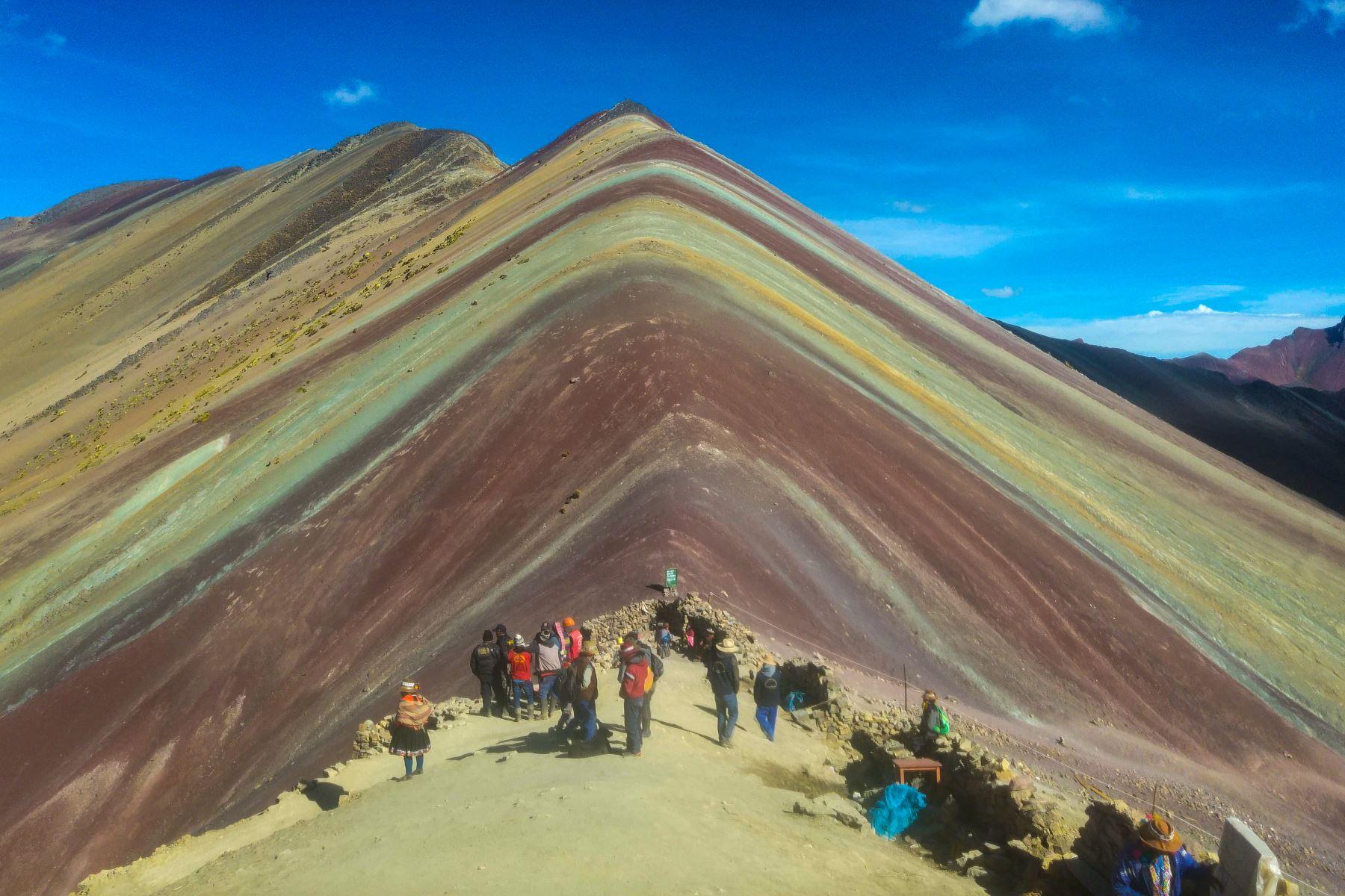 Turismo de aventura: revista Wanderlust destaca a Vinicunca y Kuélap como destinos ideales. ANDINA/Difusión