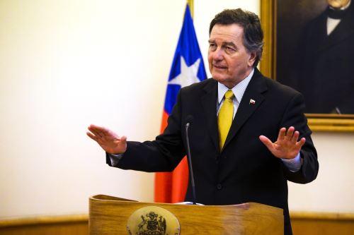 El canciller de Chile, Roberto Ampuero Foto: EFE