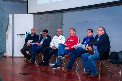 Debate de candidatos a alcaldía de Lima en la UTEC.